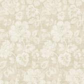 Tivoli Taupe Floral Wallpaper