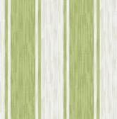 Ryoan Green Stripes Wallpaper