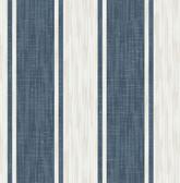 Ryoan Blueberry Stripes Wallpaper