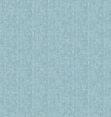 Oasis Turquoise Linen Wallpaper