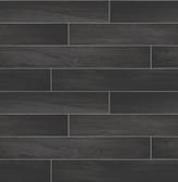 Titan Black Wood Wallpaper
