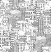 Limelight White City Wallpaper