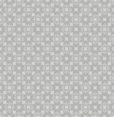 Orbit Grey Floral Wallpaper