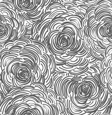 Celestial Black Floral Wallpaper