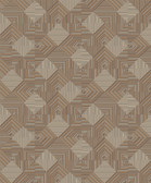 BD44503 Mixed Metals Navajo Wallpaper