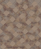 BD44505 Mixed Metals Navajo Wallpaper
