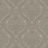 MR643714 Mixed Metals Tattersall Damask Wallpaper