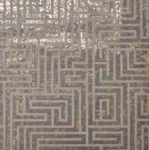 Y6220204 A-Maze Wallpaper - Charcoal