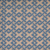 Y6220502 Trellis A-Go-Go Wallpaper - Gold/Blue