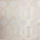 Y6221201 Viva Lounge Wallpaper - Beige/Gold