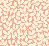 SD3768 Ronald Redding Designs Masterworks Leaf and Vine Wallpaper - Tangerine