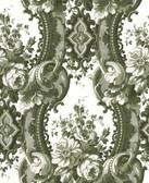 2763-24215 Dreamer Green Damask Wallpaper
