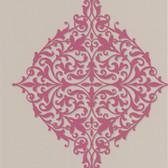 DL30620 Pastiche Pink Classical Motif Wallpaper