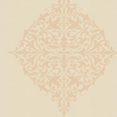 DL30623 Pastiche Beige Classical Motif Wallpaper