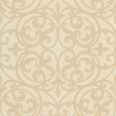 DL30628 Sonata Beige Ironwork Wallpaper
