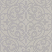 DL30629 Sonata Grey Ironwork Wallpaper