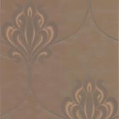 DL30643 Orfeo Brown Nouveau Damask Wallpaper