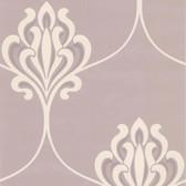 DL30645 Orfeo Mauve Nouveau Damask Wallpaper