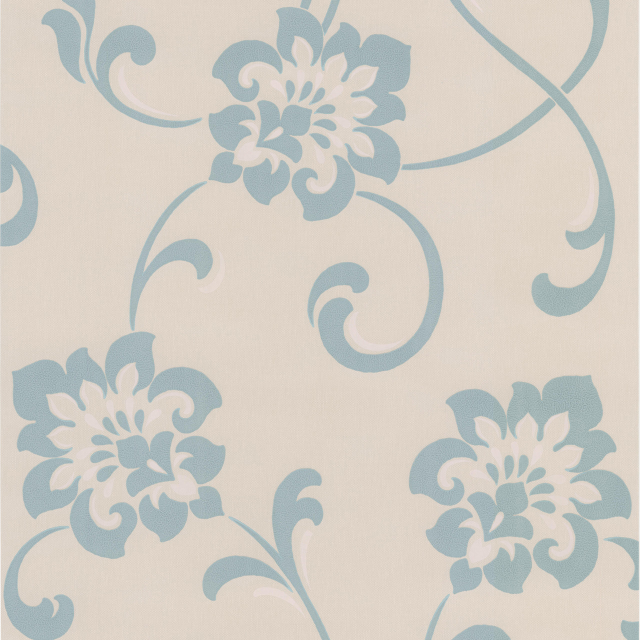 Dl30648 Sharon Aqua Jacobean Floral Wallpaper Indoorwallpaper Com