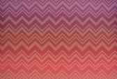 MI20091 Missoni Home Zig Zag Sfumato Wallpaper - Coral Ombre