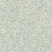 LG1306 Floral Sprig Wallpaper - Aqua