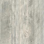 LG1321 Rough Cut Lumber Wallpaper - Light Grey
