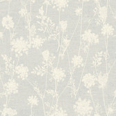 LG1380 Queen Annes Lace Wallpaper - Grey