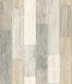 LG1400 Pallet Board Wallpaper - Greys