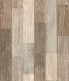 LG1401 Pallet Board Wallpaper - Multi