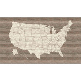 LG1406M United States Map Mural - Pallet Wood
