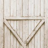 LG1407M Barn Door Mural - White