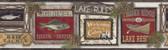 LG1450BD Lake Rules Border - White/Multi