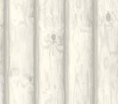 LG1455 Mountain Logs Wallpaper - White