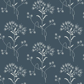 ME1518 Magnolia Home Vol. II Wildflower  White on Navy