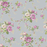 Botanical Fantasy AK7400Victorian Garden Wallpaper