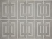 DL2969 Candice Olson Splendor Quad Wallpaper  Silver/White