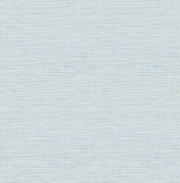 2793-24283 Lilt Blue Faux Grasscloth Wallpaper