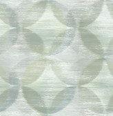 2793-24700 Alchemy Green Geometric Wallpaper