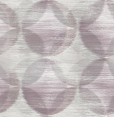 2793-24703 Alchemy Purple Geometric Wallpaper