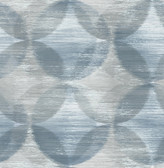 2793-24704 Alchemy Blue Geometric Wallpaper