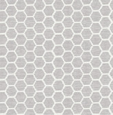 2793-24711 Aura Lavender Honeycomb Wallpaper