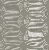 2793-24740 Zephyr Brown Abstract Stripe Wallpaper