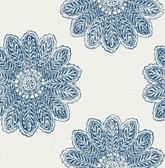 2793-24744 Sol Indigo Medallion Wallpaper