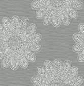 2793-24746 Sol Slate Medallion Wallpaper