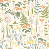 2782-1450 Visby White Scandinavian Wallpaper