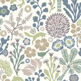 2782-1472 Malmo Green Fauna Wallpaper