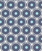 2782-24506 Buttercup Blue Flower Wallpaper