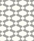 2782-24540 Emilio Grey Retro Wallpaper