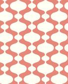 2782-24542 Emilio Coral Retro Wallpaper