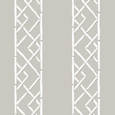 2785-24809 Platinum Latticework Wallpaper